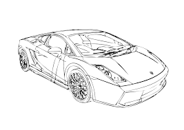 Lamborghini Veneno Drawing Coloring Pages
