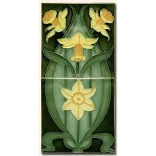 nouveau tile and arts and crafts tile reproductions polyvore