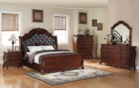 Coaster Furniture Priscilla Collection Brown Cherry Bedroom Set