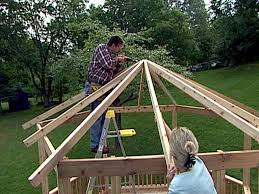How To Build A Gazebo From A Kit | How-tos | DIY Pergola Gazebo Backyard Bewitch Outdoor At Kmart Ideas Hgtv How To Build A From Kit Howtos Diy Kits Home Design 11 Pergola Plans You Can In Your Garden Wood 12 Building Tips Pergolas Build And And For Best Lounge Hesrnercom 10 Free Download Today Patio Awesome Diy