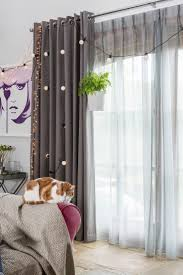 Blue Crushed Voile Curtains by Best 25 Voile Curtains Ideas On Pinterest Sheer Curtains