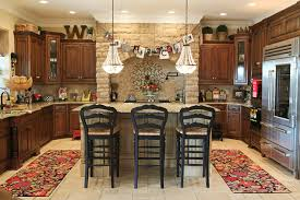 holiday decor traditional kitchen columbus by julie ranee