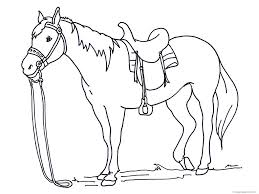 Coloring Pages Of Horses To Print With Wings Printable Horse Archives Page Download Horseshoe Full