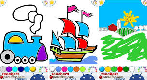 If Your Kids Love Coloring Books Then Finger Painting Art Game Will Definitely Make Them Fall In With Digital
