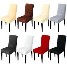 Stretch Chairs Solid Color Chair Cover Spandex Fabric Seat Covers Restaurant Hotel Party Banquet Slipcovers Home
