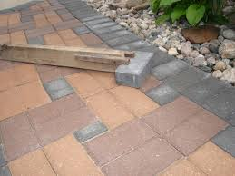 Installing 12x12 Patio Pavers by How To Install A Paver Patio