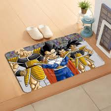 Dragon Ball Z Decorations by W620 1 Custom Dragon Ball Z Anime Watercolor Painting Doormat Home