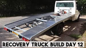 100 Truck Bed Ramp RECOVERY TRUCK BUILD DAY 12 A LOAD OF SHEET RAMP TRUCK