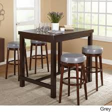 Simple Living Avenue Espresso Rubberwood 5-piece Pub Set (5 ...
