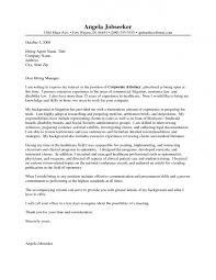 Cover Letter Example PRISM International