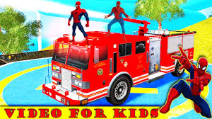 Spiderman Disney Cars Lightning McQueen Vs Fire Truck (Nursery ... Blue Dinoco Mack The Truck Disney Cars Lightning Mcqueen Spiderman Cake Transporter Playset Color Change New Hauler Car Wash Pixar 3 With Mcqueen Trailer Holds 2 Truck In Sutton Ldon Gumtree Lego Bauanleitung Auto Beste Mega Bloks And Launching 95 Ebay Toys Hd Wallpaper Background Images Remote Control Dan The Fan Cone