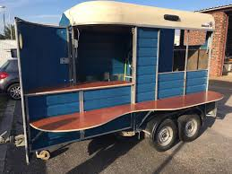 Sinclair Horse Trailer Conversion Mobile Shop Prosecco Gin Bar Catering Van
