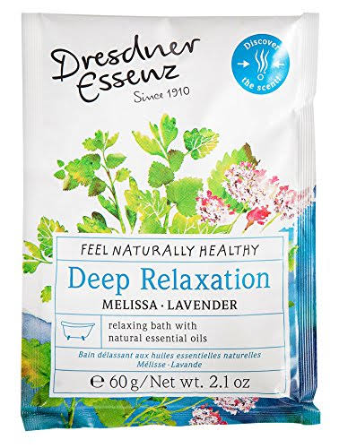 Dresdner Essenz Bath Salt - Deep Relaxation - Lavender Melissa 2.1 oz