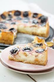 pudding schmand kuchen mit zwetschgen tulpentag schnelle