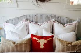 Ana White Rustic Headboard by Ana White Rustic Headboard Diy Projects With Grey Wood Interalle Com
