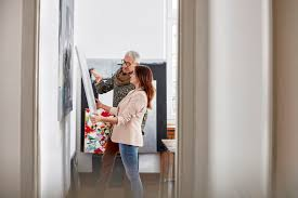 Photo Of Artist Selling Painting By Getty Images