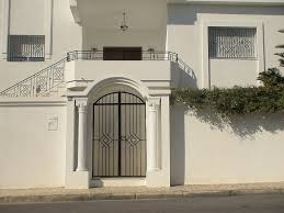 cuisine porte extã rieure en fer forgã tunis maisons citizen