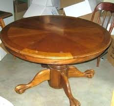 Dining Tables With Leaves Round Table Leaf Astonishing Oak