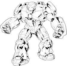 Coloriage Iron Man Hulkbuster Www
