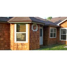 100 Cedar Sided Houses Red Untreated Wood Siding Shingles At Lowescom