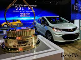 Chevy Bolt Beats Model S To Capture Motor Trend Car Of The Year Award
