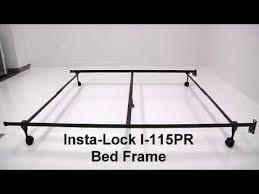 mantua i 115pr queen bed frame setup video youtube
