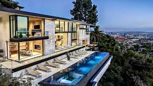 100 Hollywood Hills Houses MILLION DOLLAR HOUSE IN THE HOLLYWOOD HILLS TOUR