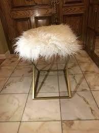 New Fluffy Chair Vanity