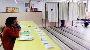 bureau de vote maintenant que le président a changé les gens sont moins motivés