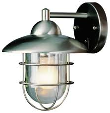 bel air lighting stainless steel outdoor wall light lowes with