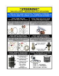 Steering Rebuilders & Truck Parts, Inc. - STEERING SEAL KITSMEDIUM ... Testpoint Linde Forklift Truck Parts Catalog 2012 Parts Catalog Order Download Dennis Carpenter Catalogs Ford 20 Best Uhaul Images On Pinterest 196779 By And Cushman Willys Pictures Full Bus Package Online Via Rdp Spare Jack Doheny Companiesjack Companies Euroricambi Catalog Spare Parts Truck Auto Repair Manual Forum Factory Pres Lmc Fast Prodcution Buy Aftermarket Valvetrain Duramax Roller Rockers March 2011 Power Trucklite Catalogue