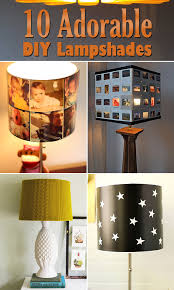 10 Adorable DIY Lampshade Designs To Decorate Your Home