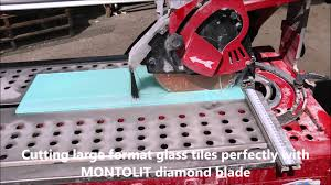 Best Glass Tile Nippers by Cutting Large Format Glass Tiles Perfectly With Montolit Diamond