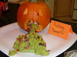 Puking Pumpkin Cheese Dip by Krazy Cake Lady I U0027m Back And I Brought Some Fun Yucky Halloween