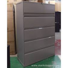 Used Fireproof File Cabinets 4 Drawer by Drawer Knoll Lateral File Cabinets Used