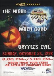 Halloween Havoc 1999 Hogan Sting by Wcw Halloween Havoc Ranking The Wrestling Event U0027s Posters
