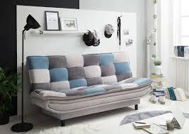 patch schlafsofa 188 x 118 cm silber blau dkl grau günstig möbel küchen büromöbel kaufen froschkönig24