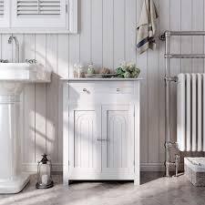 vasagle badkommode bbc61wt badezimmerschrank badschrank weiß kaufen otto