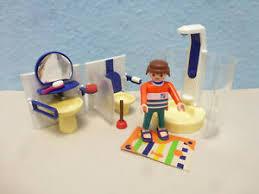 details zu badezimmer bad wc zu wohnhaus haus figuren 9266 4279 playmobil 027