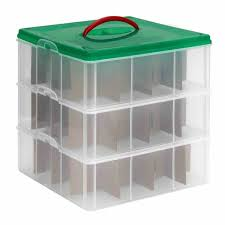 Storage Keeper Xmas Tree Container Home Design Ideas And Pictures Rubbermaid Christmas Ornament