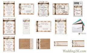 Lovely Wedding Invitation Kits Rustic