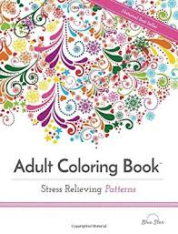 Adult Coloring Books Christmas 2018 Stress Relieving Book Cover Image