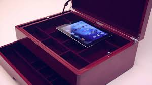 Mens Dresser Top Valet by Top Drawer Valet And Charging Station Youtube
