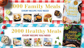 Every Recipe You Need 2000 Healthy Meals And Family