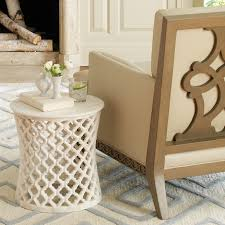 Global Views Marble Arabesque Side Table • Side Tables Ideas