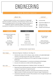 Engineering Resume Example & Writing Tips | Resume Genius Resume Genius Theresumegenius Twitter Badass Resume By Rjace My So Its Immediately Visually 25 Inspirational Curriculum Vitae Ctribution To Society Letter Retail Sales Associate Sample Writing Tips Coaching Ged On Prutselhuisnl Close The Deal And Get A Job Offer With These Writing Tips App Examples Template Internship Samples Guide