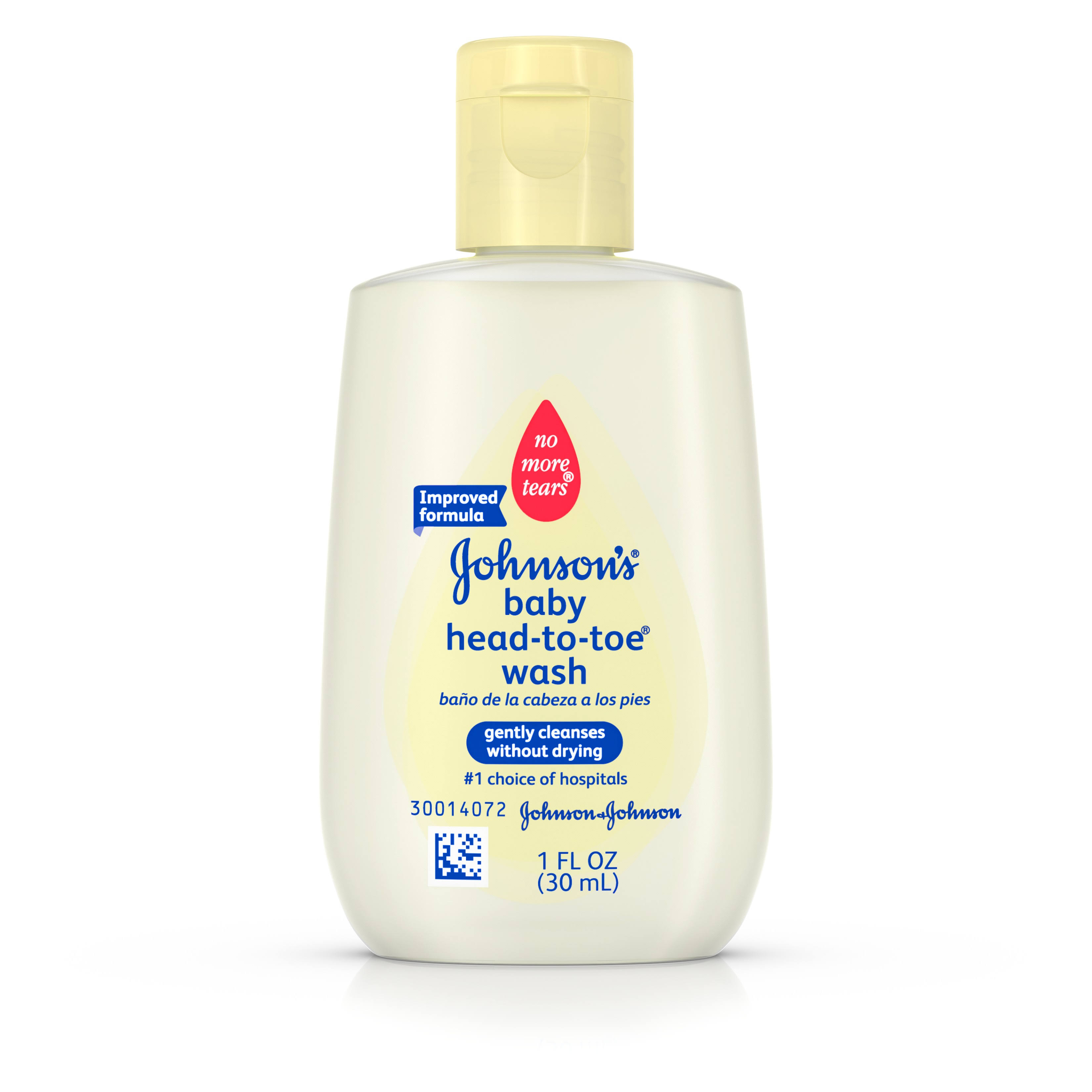 Johnson's Baby Head-to-Toe Wash - 1oz