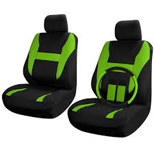 100 Semi Truck Seats Find SUV Van Seat Covers Set Bucket Black Green 9pc