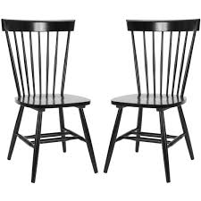 Safavieh Parker Spindle Dining Chair - Set Of 2 | Black ...