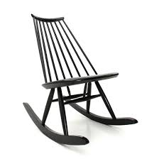 Midcentury Modern Black Mademoiselle Rocking Chair By Ilmari Tapiovaara For  Artek, 1950s Isla Wingback Rocking Chair Taupe Black Legs Safavieh Outdoor Living Vernon White Rar Eames Colby Avalanche Patio Faux Wood Rapson Amazoncom Adults For Heavy People Clips Monet Rattan Rocking Chair Base Pp Ginger